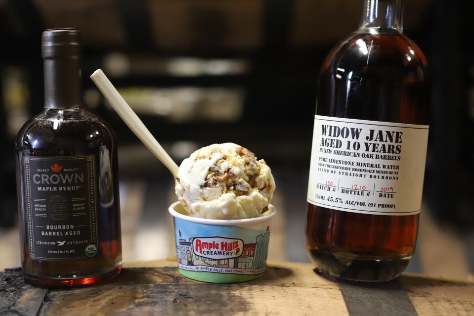 Ample Hills Creamery Maple Bourbon Barrel Ice Cream Holiday Gift Guide