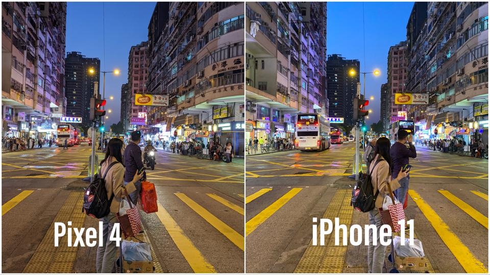 Night images are similar between the two too.