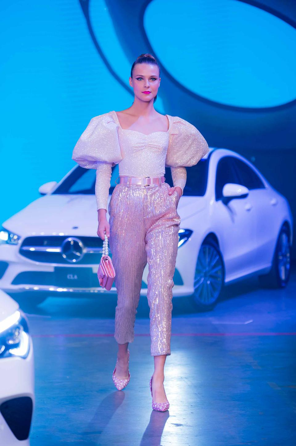 Mercedes Benz sponsored designer: Benito Santos.
