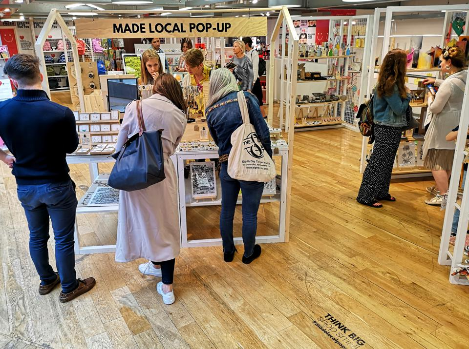 Curated Makers pop-up brings local art and craft to the high street