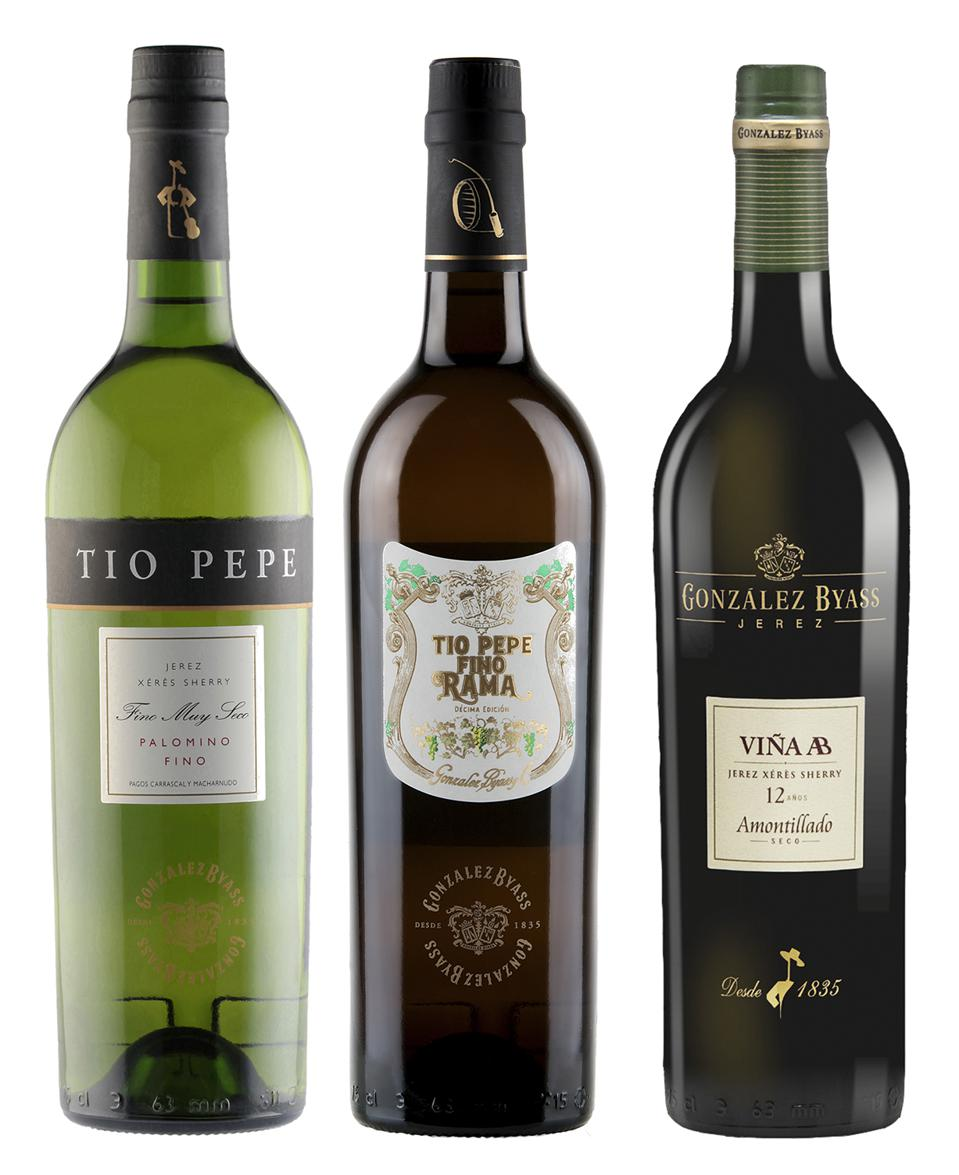 Sherry wines are diverse.
