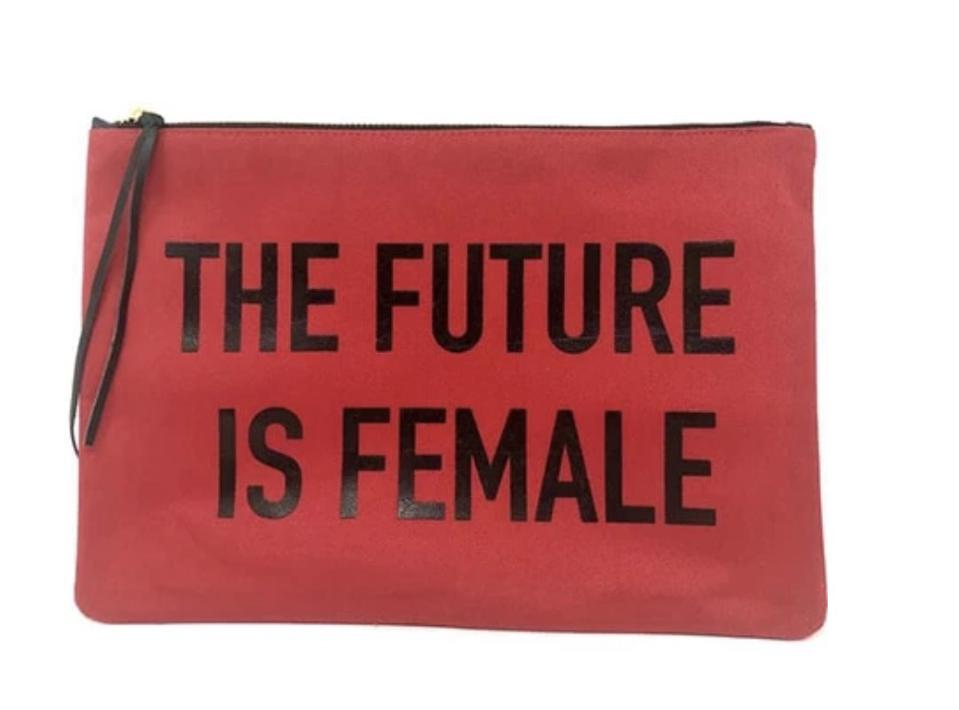 The Future is Female pouch from Ocelot Market