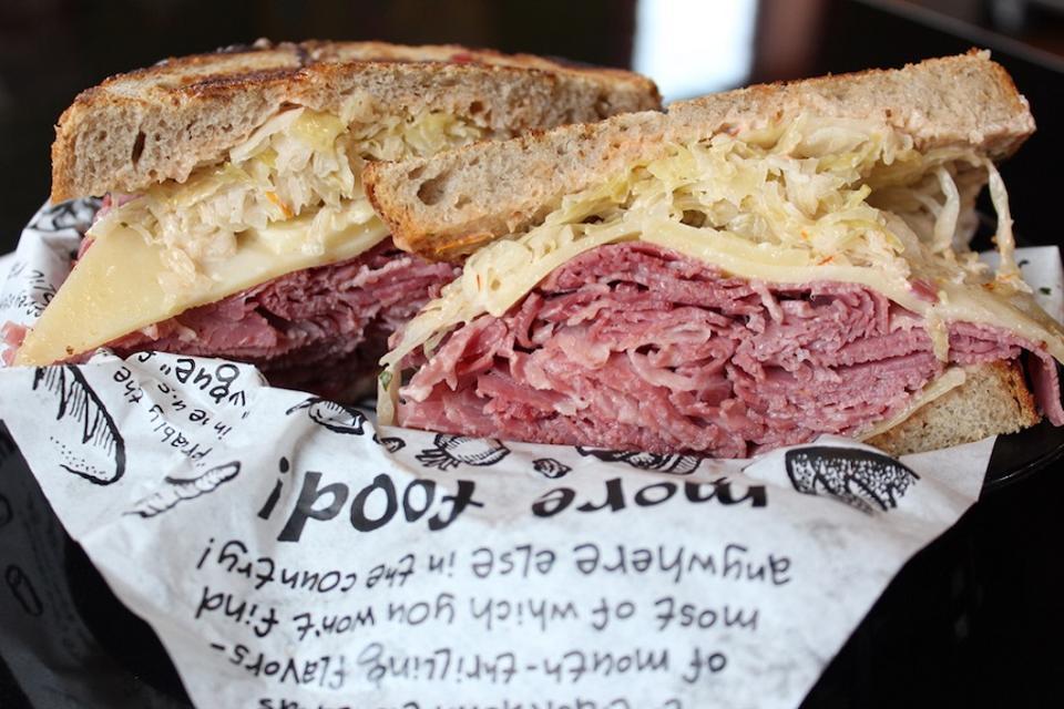 Reuben sandwich from Zingerman's