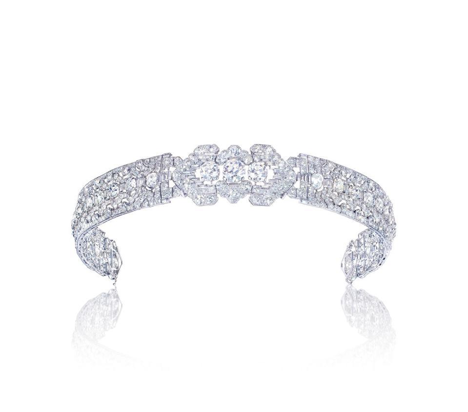 Cartier Art Deco diamond bandeau