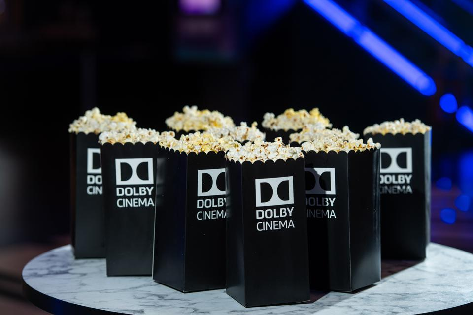 Popcorn at the Dolby Cinema Launch at ODEON Luxe Broadway Plaza