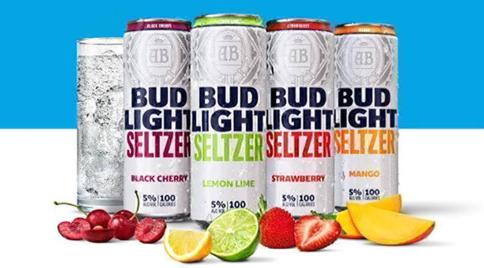 Bud has launched a new seltzer.