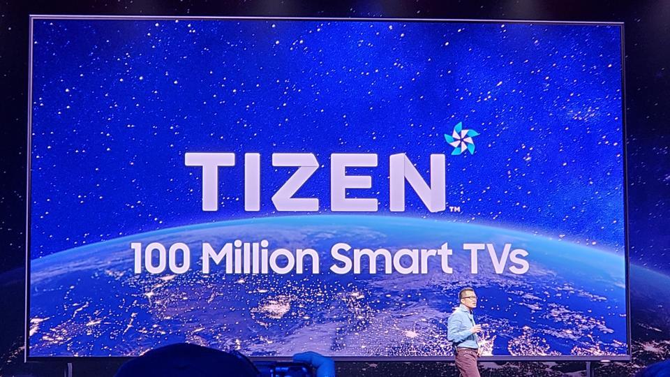 Developers can take advantage of 100M Tizen-based Samsung TVs