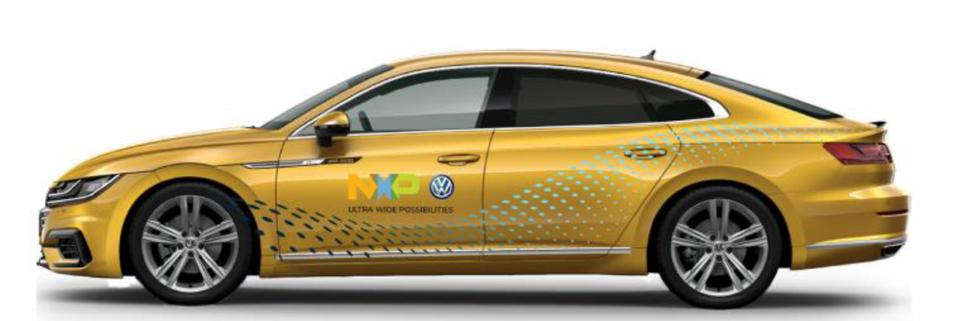 NXP and VW announced the first automotive applications of ultra-wideband wireless technology will be... [+]