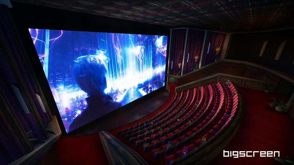 Virtual cinema