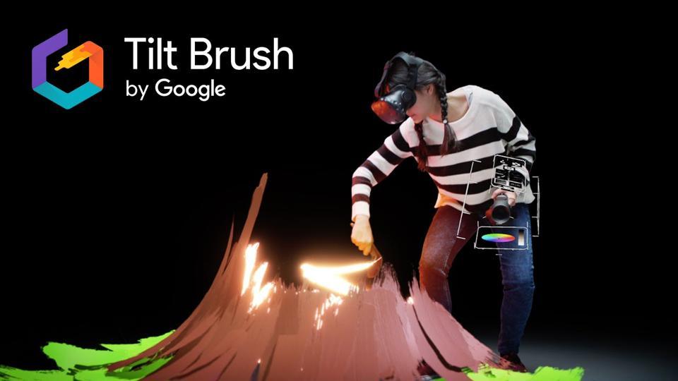 Tilt brush poster