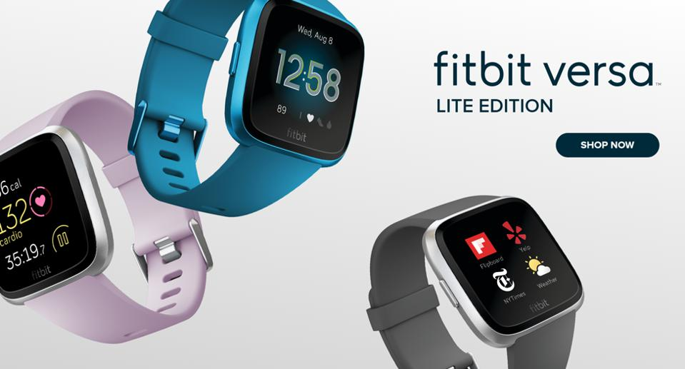 Fitbit wearables.