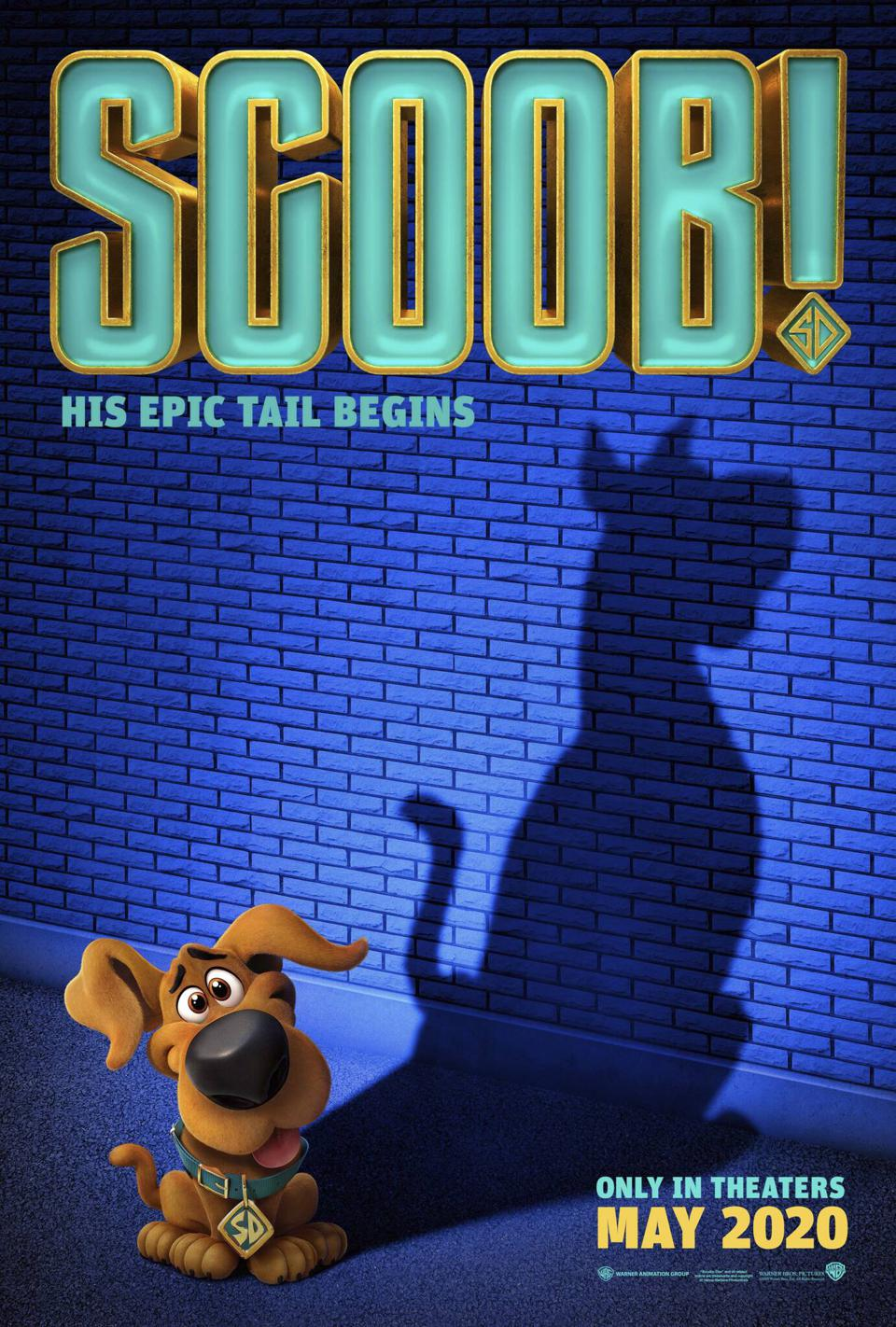 Will Forte, Gina Rodriguez, Amanda Seyfried, Zac Efron and Frank Welker in 'Scoob'