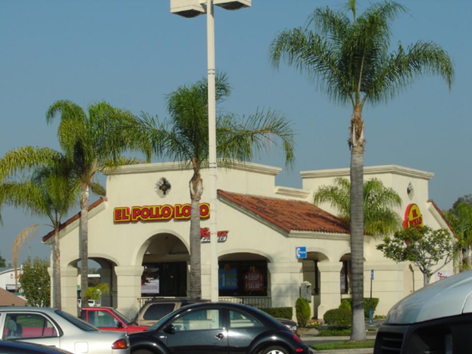 A typical El Pollo Loco Restaurant