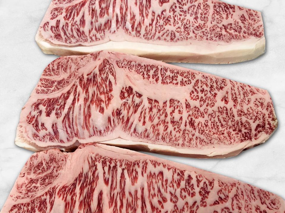 Kobe beef steaks