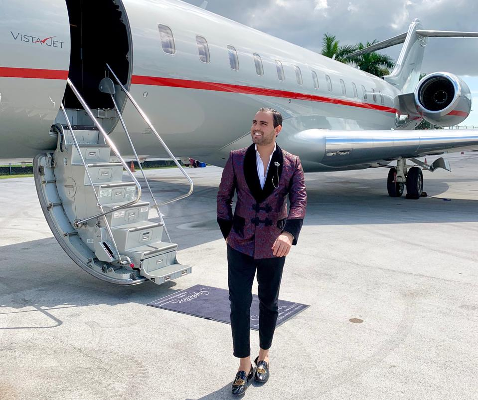 Nacer Tazi Black Edge Concierge Luksuzno potovanje VistaJet