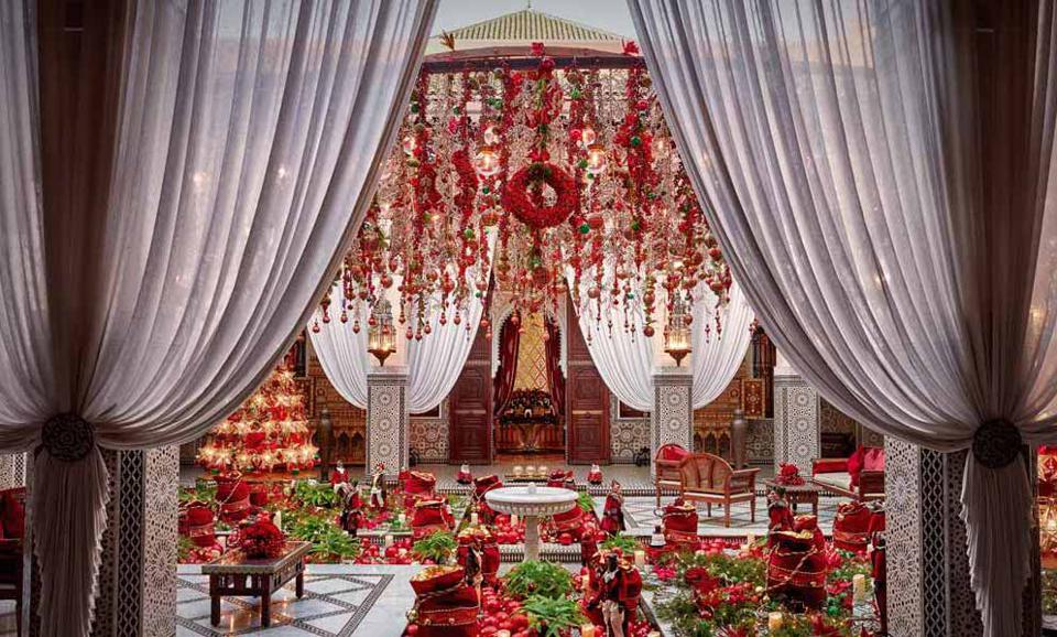 Concierge Royal Mansour Črni rob Nacer Tazi