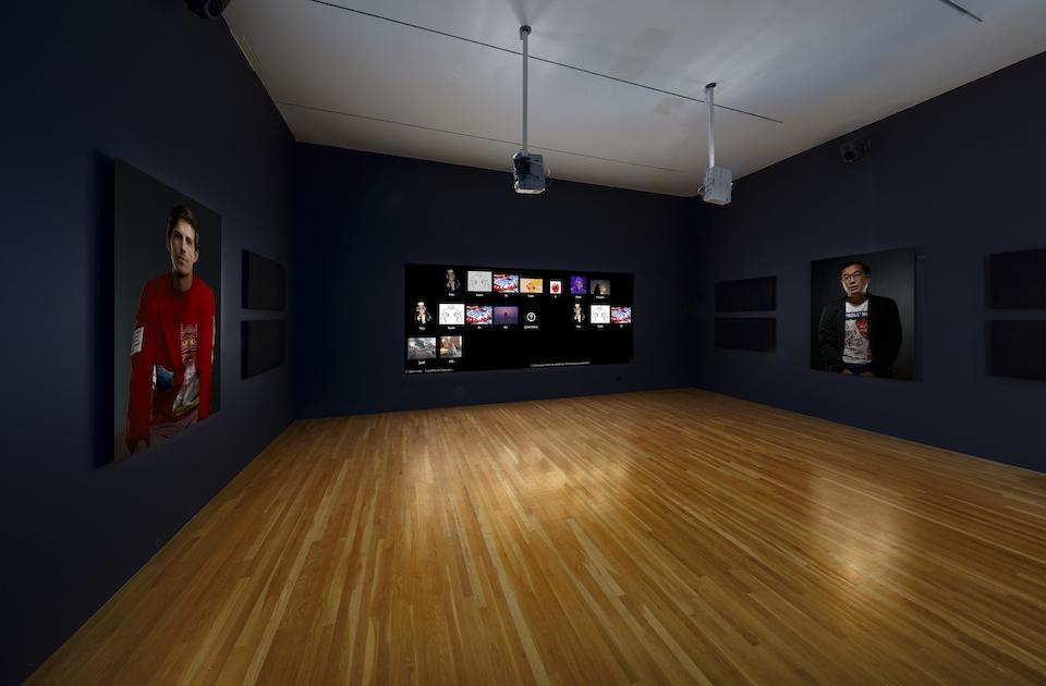 Matt Checkowski″s ″Glyph″ at the Dallas Museum of Art