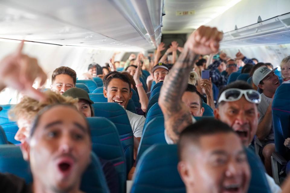 Hawaiian Airlines 90th celebration