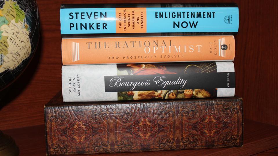 The Optimist's Bookshelf
