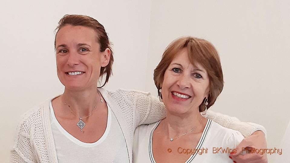 Angéline Templier and her mother Chantal Lassalle