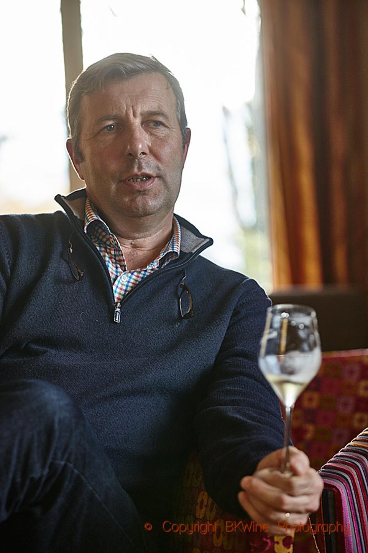 Didier Gimonnet of Champagne Gimonnet