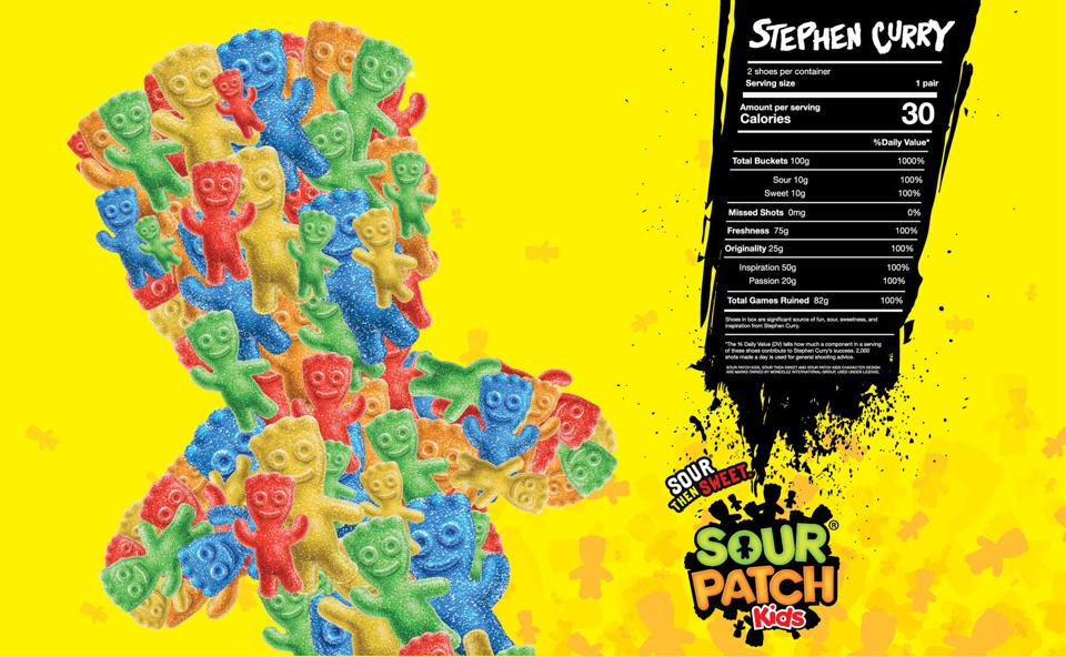 Curry 7 Sour Patch Kids