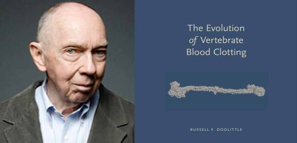 Russell F. Doolittle, author of The Evolution of Vertebrate Blood Clotting