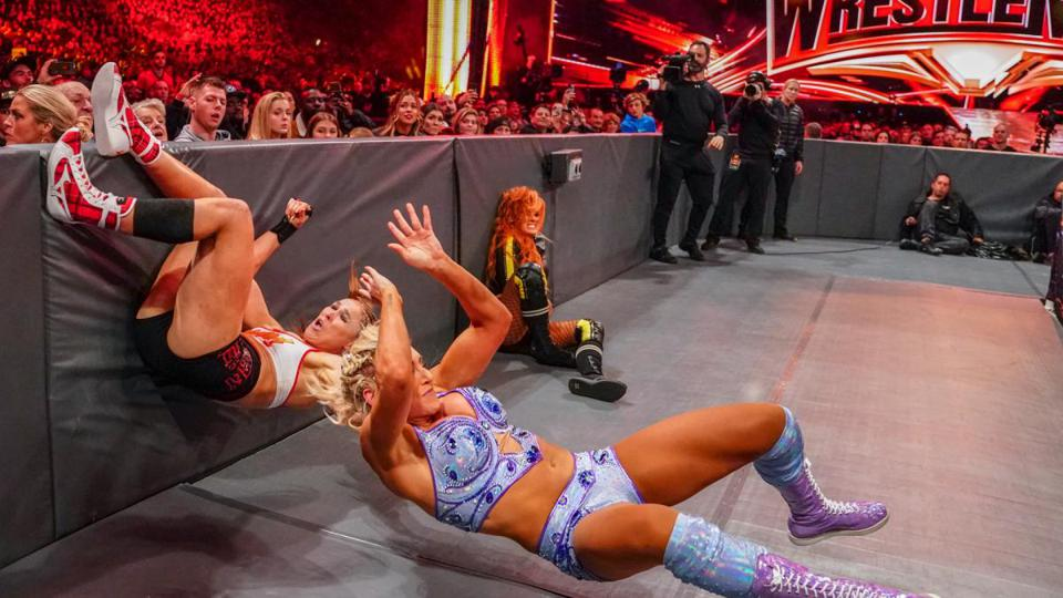 WWE WrestleMania: Charlotte Flair, Becky Lynch and Ronda Rousey