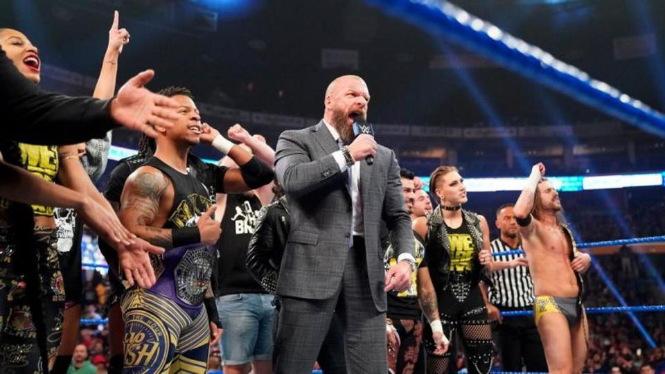 WWE NXT roster and Triple H