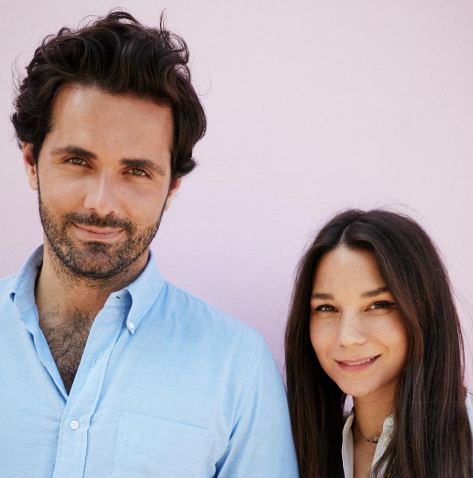 Nanushka's Peter Baldaszti and Sandra Sandor