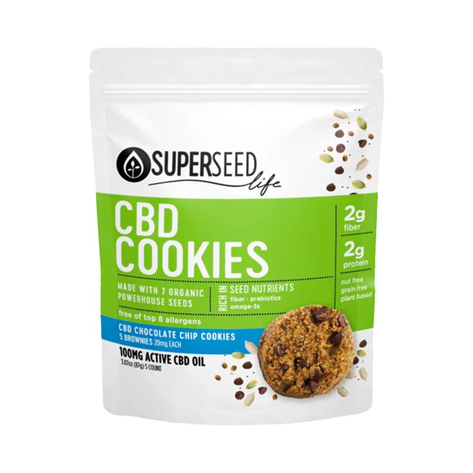 Superseed Life Wellness Chocolate Chip Cookies