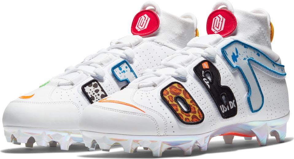 OBJ Nike cleat