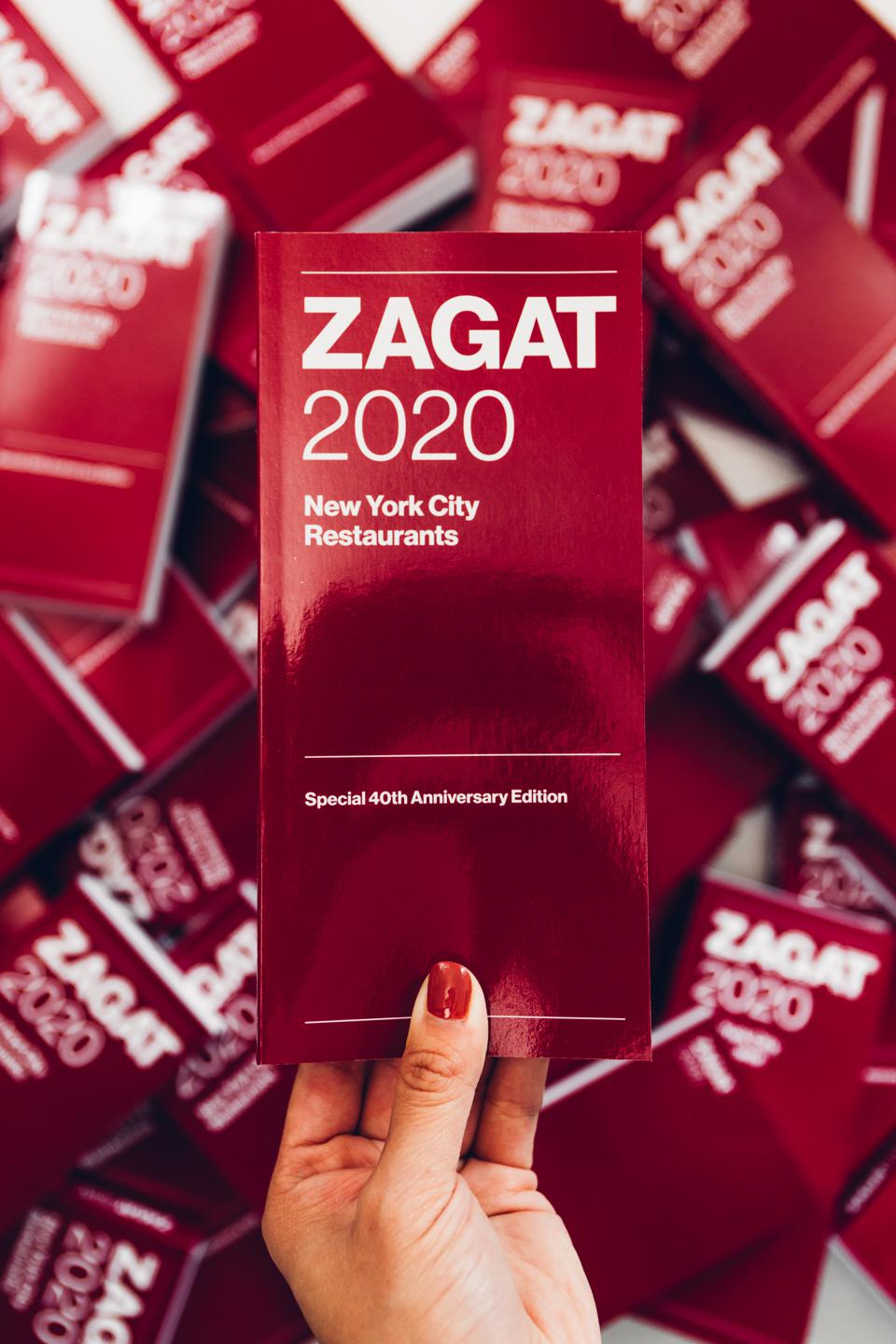1400 reviews can be found within the new Zagat 2020 Nw York City Restaurants