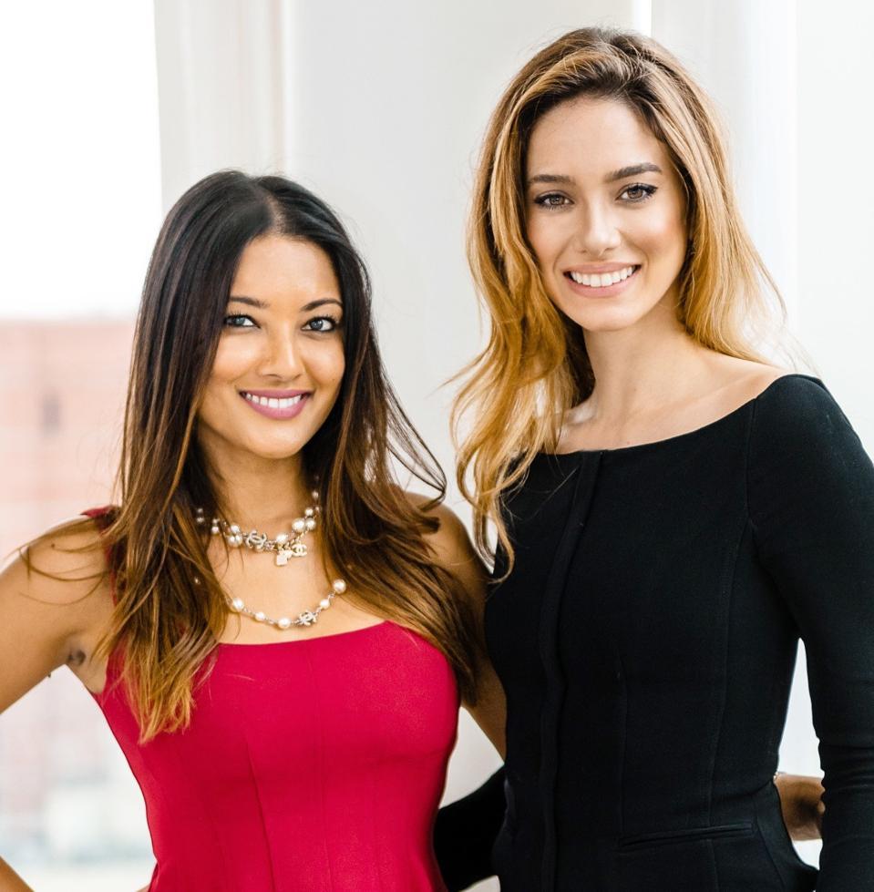 Candice Milano and Malessa Rambarran