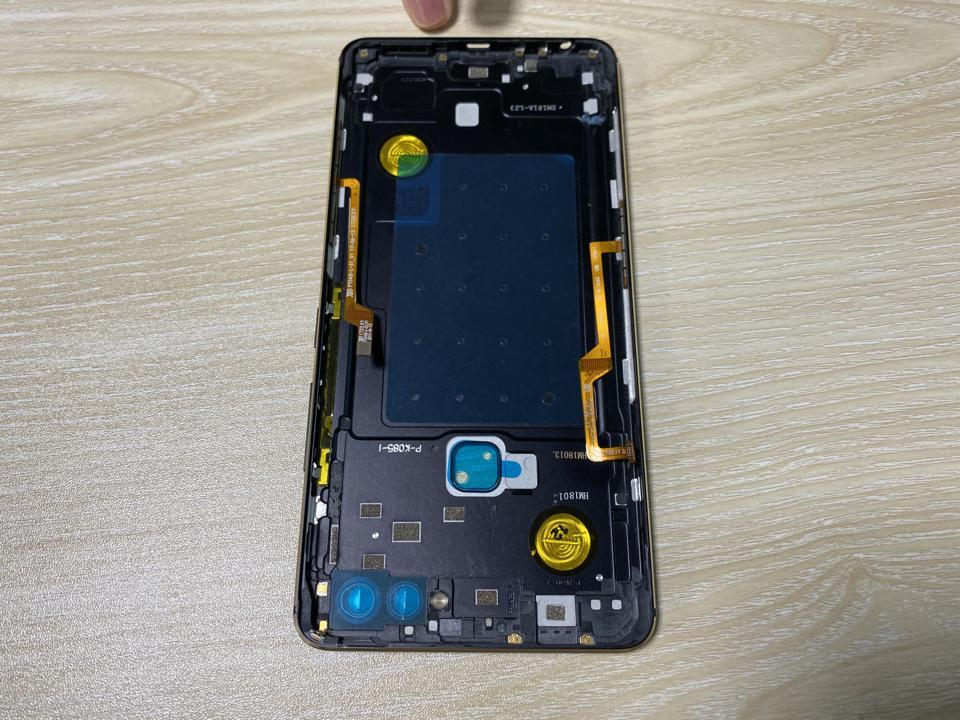 NDT's force sensors inside a smartphone.