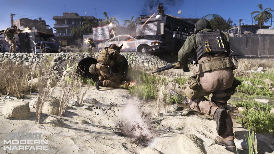 Modern Warfare down