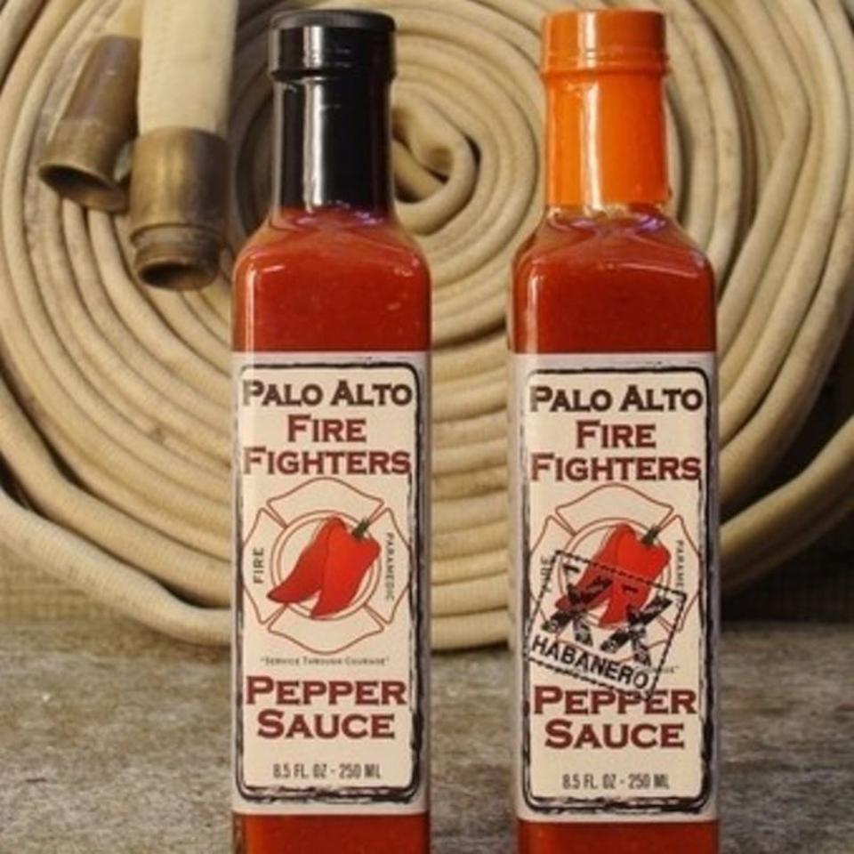 Palo Alto Firefighters Pepper Sauce