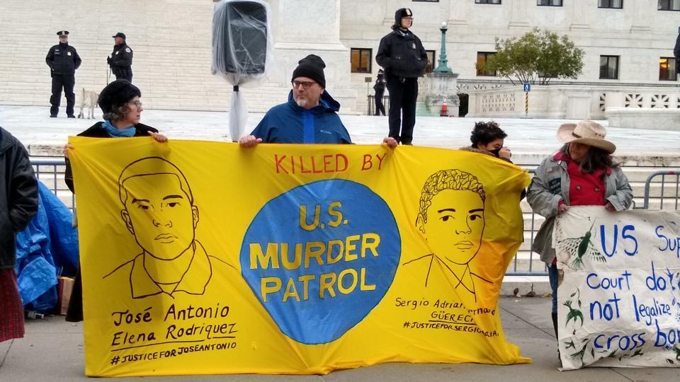 Supreme Court, Border Patrol, immigration, protest