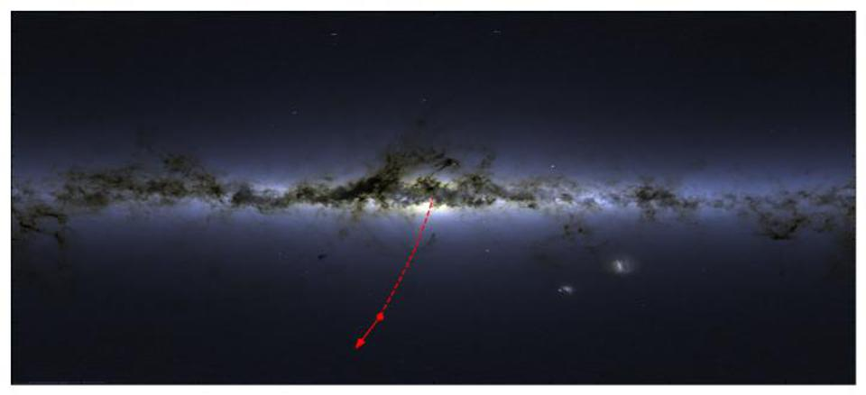 Supermassive Black Hole Ejects Star From Milky Way Galaxy