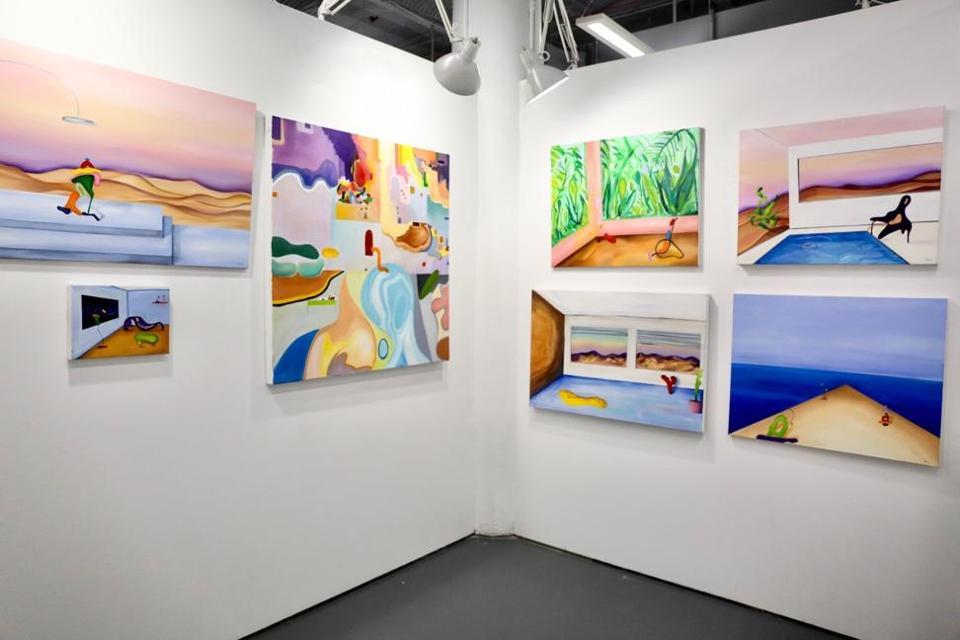 A look inside Chanel Khoury's Studio
