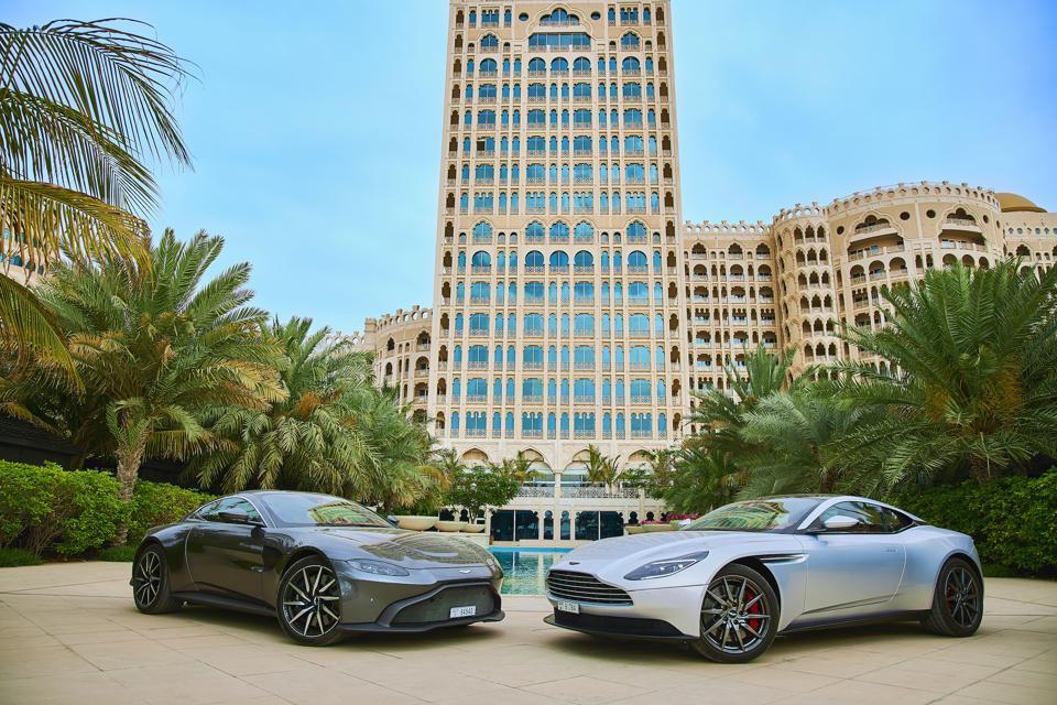 Waldorf Astoria Hotels & Resorts Dubai Aston Martin