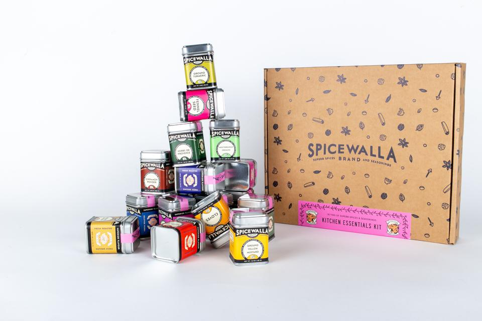 Spicewalla Kitchen Essentials 18 Spices Gift Set