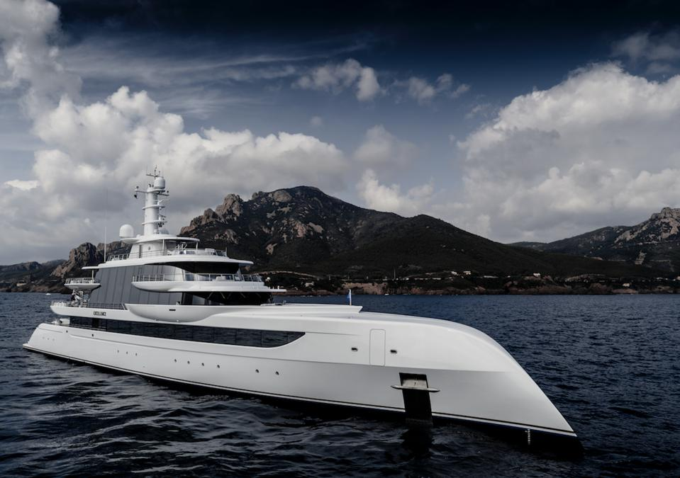 Billionaire Businessman Herb Chambers Talks About Owning One Of Hottest Superyachts In The World, The 263-Foot-Long Excellence