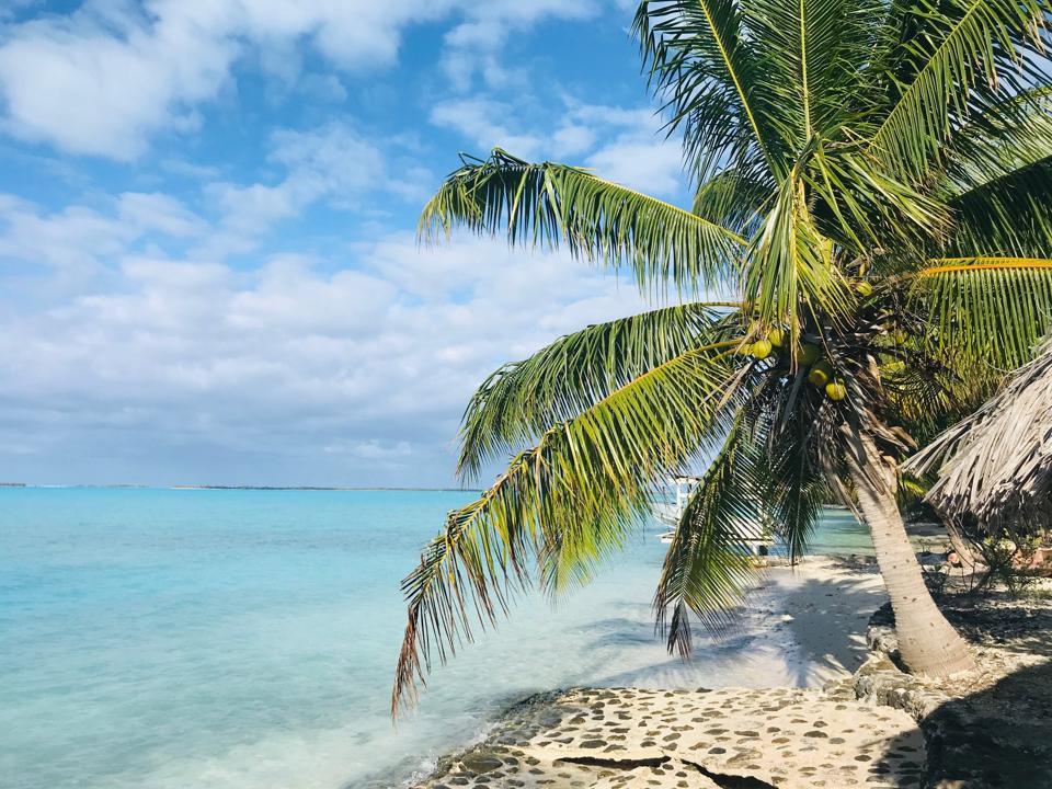 Anaa Atoll lagoon