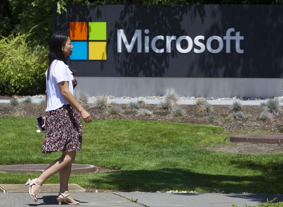 """""""Microsoft"""" miestelis"""
