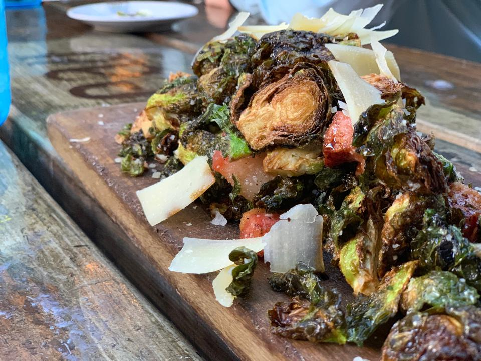 Brussels Sprouts at Bo Beau