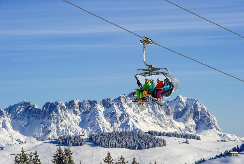 Skiwelt Wilder Kaiser-Brixental in Austria