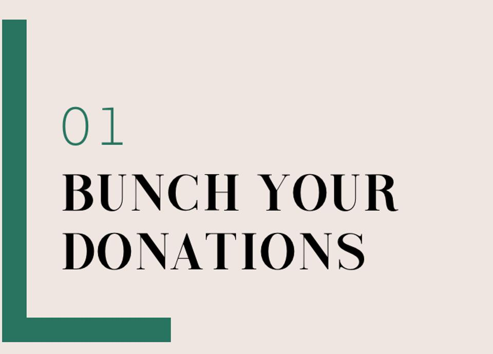 01 Bunch Your Donations