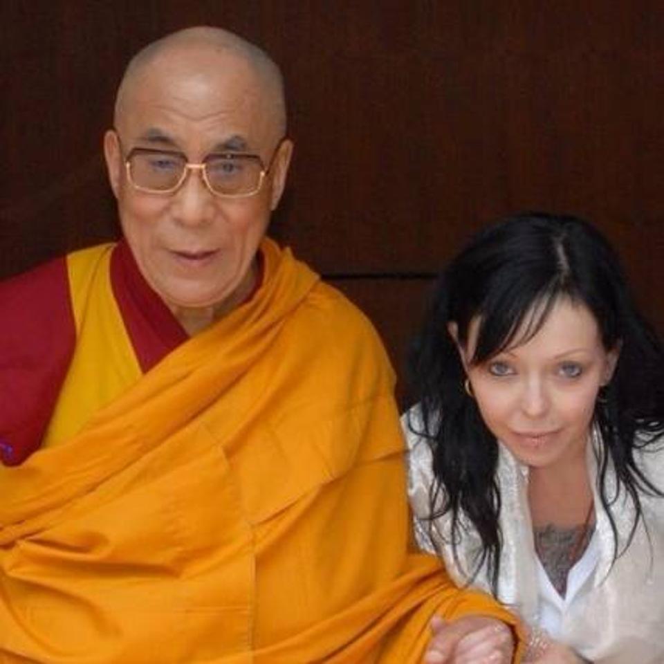 Heidi and the Dalai