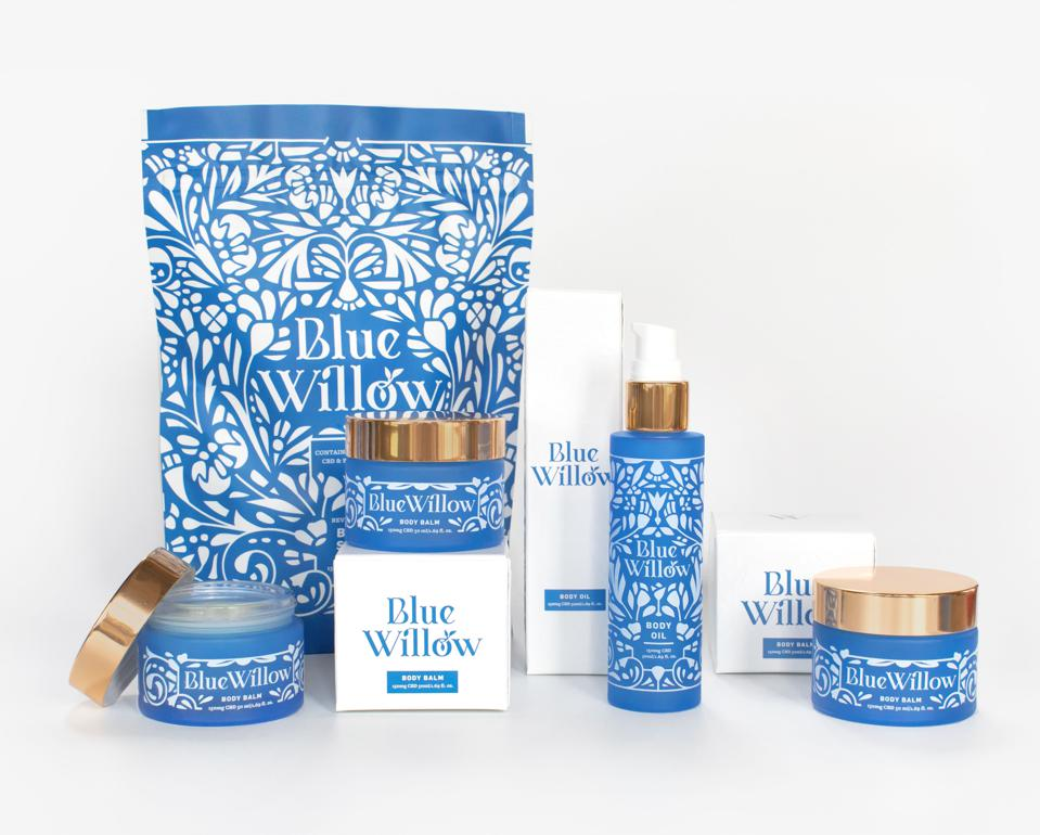 Blue Willow, Harmony Bowman, CBD beauty, Aspen, luxury cannabis